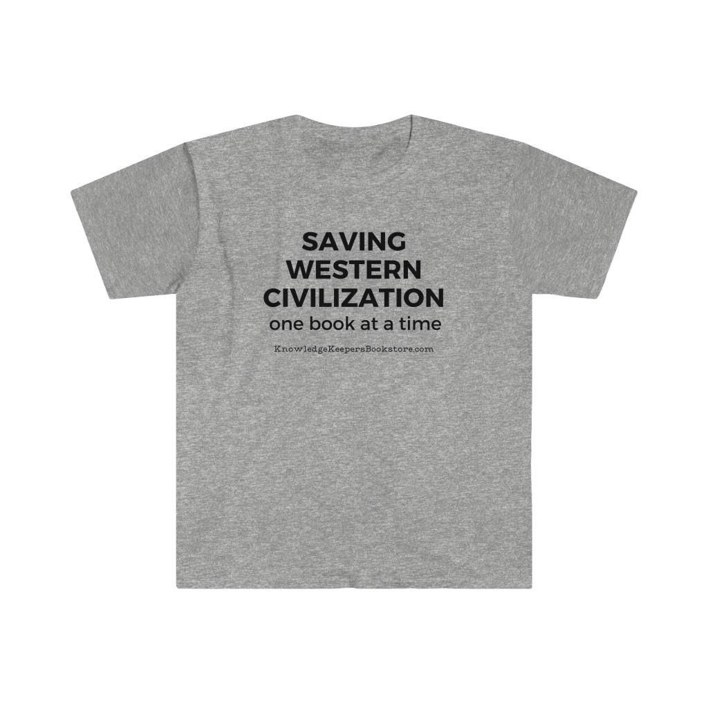 Saving Western Civilization t-shirt