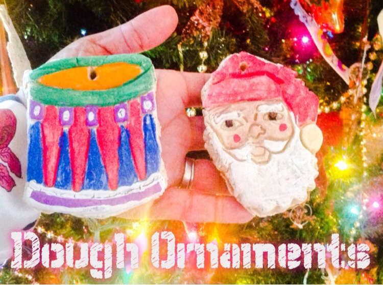 Dough Ornaments for Your Christmas Tree.