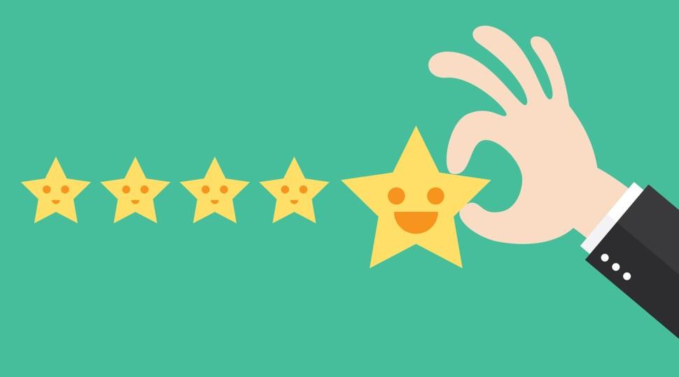 Amazon reviews image