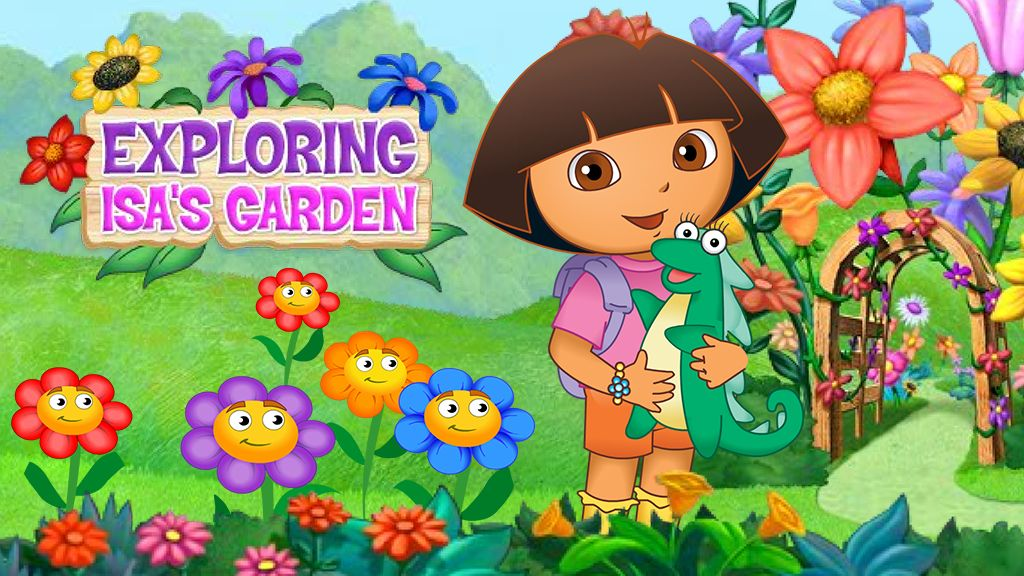 Exploring Isa S Garden Adventure Game Nick Jr Australia
