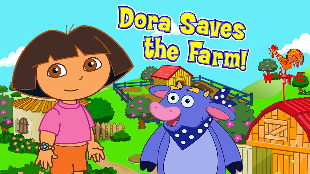 Dora Saves The Farm Adventure Game Nick Jr Australia