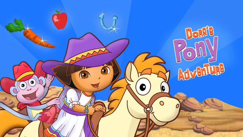 Dora The Explorer Gioca Con Pony Adventure Game