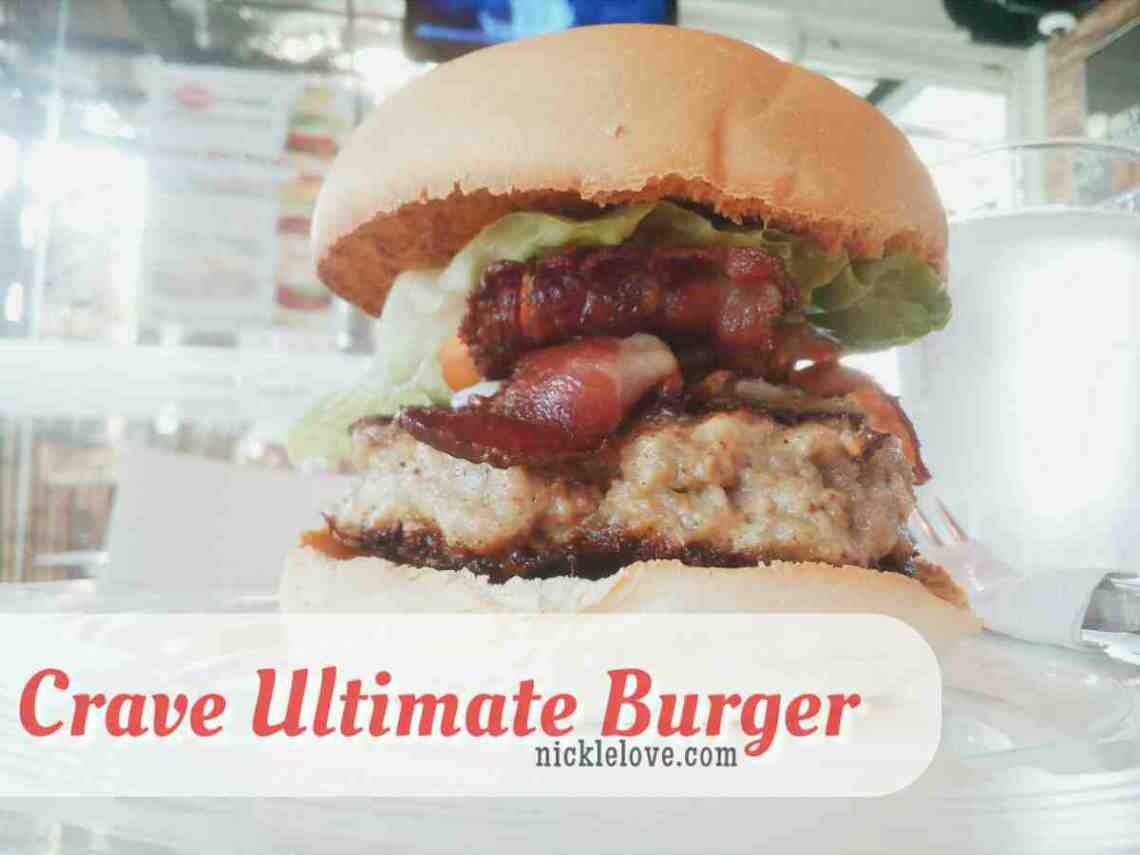 Crave Ultimate Burger - BF Resort Las Pinas