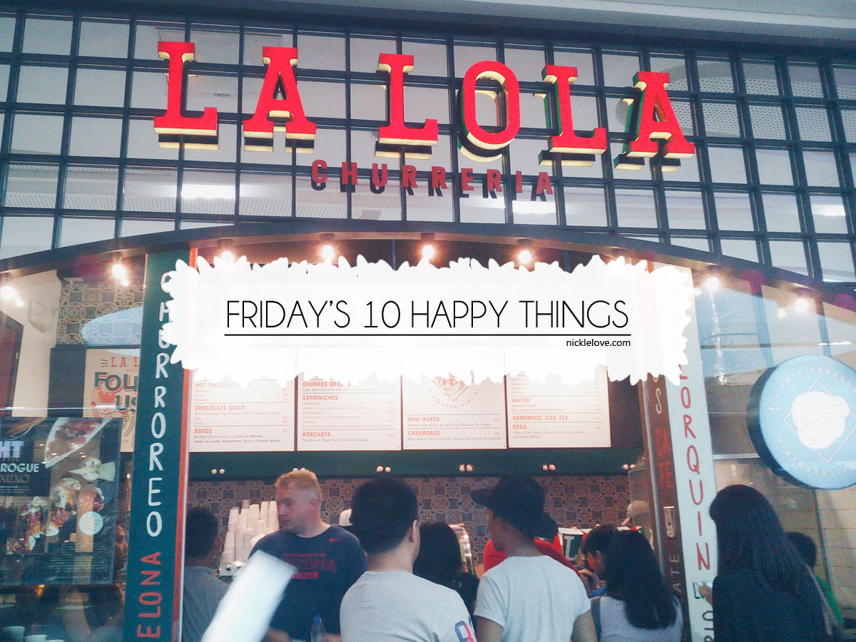 Friday's 10 Happy Things 2   Nickle Loves to Blog