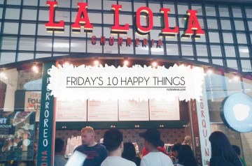 La Lola Churreria SM Aura, Taguig City