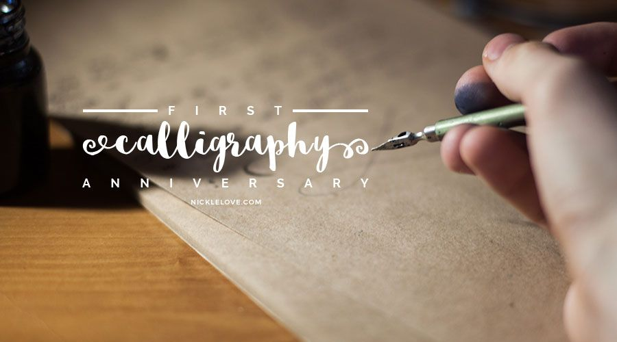 First Calligraphy Anniversary