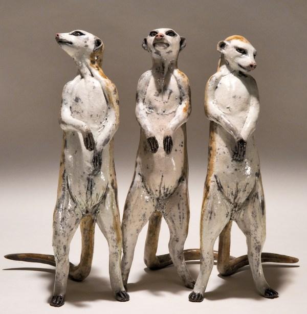 Meerkat Sculptures - Nick Mackman Animal Sculpture