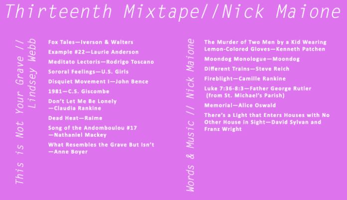 Nick Maione → Audio & Media