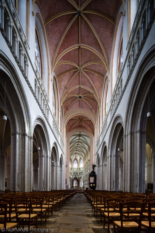 The Cathedral at Quimper, Brittany, France