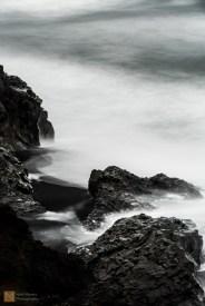 Rough seas at Kirkjufjara
