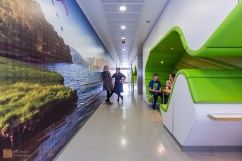 The Teenage Cancer Trust units are designed to be friendly and welcoming