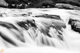 Waterfall at Amhuinnsidhe