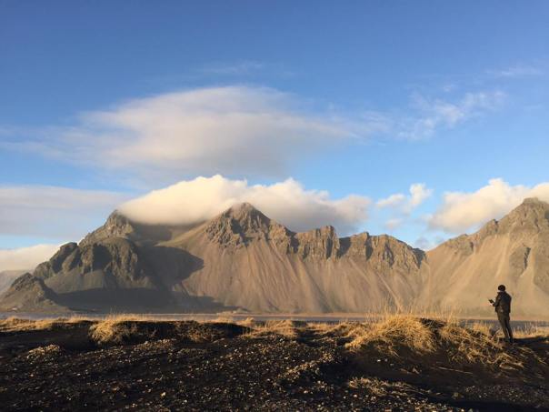 Sunlight on Vestrahorn