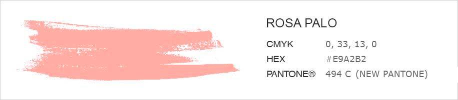 Rosa palo - Color personalitzat per penjador infantil