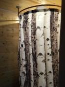 Love our birch shower curtain !