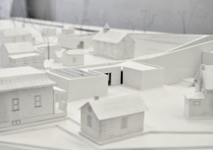 Lost Villages Museum Proposal, 1:100 Model