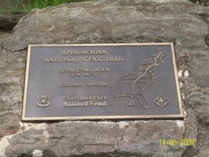Springer Mountain, GA - Southern Terminus of the AT