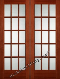 Interior Door: Interior Double French Doors