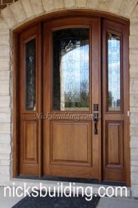 arched top exterior doors,round top front doors,radius top