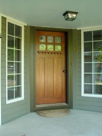 arts and crafts doors, Craftsman style doors , mission ...