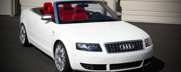 Audi S4 Convertible Desktop Wallpaper for Dual Monitors