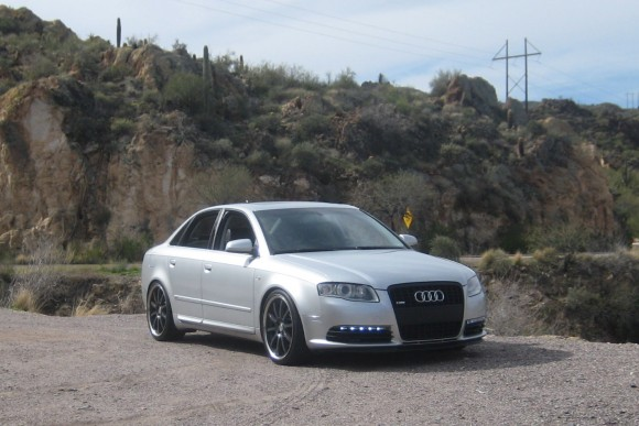 Audi A4 with S6 LED