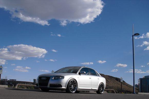 B7 Audi A4 Silver