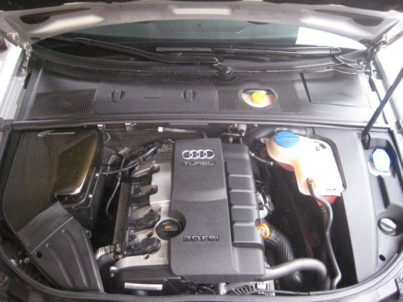 Carbonio Intake on a B7 Audi A4