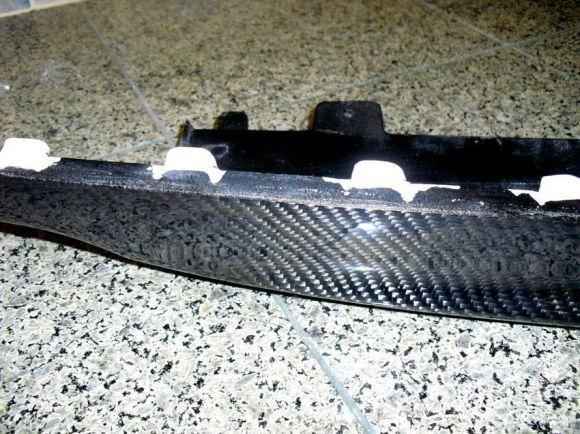 Carbon Fiber Rear Valence Modification