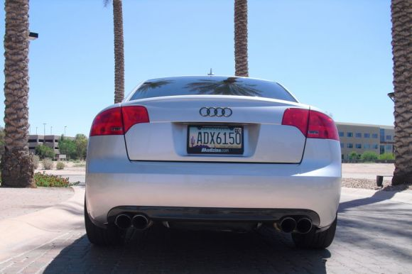My B7 Audi A4 with Carbon Fiber Rear Valence