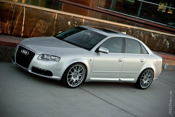 Audi A4 on BBS CH Wheels