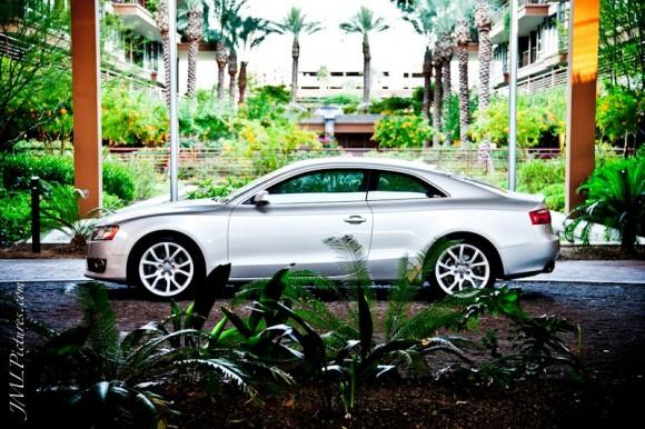 Silver Audi A5