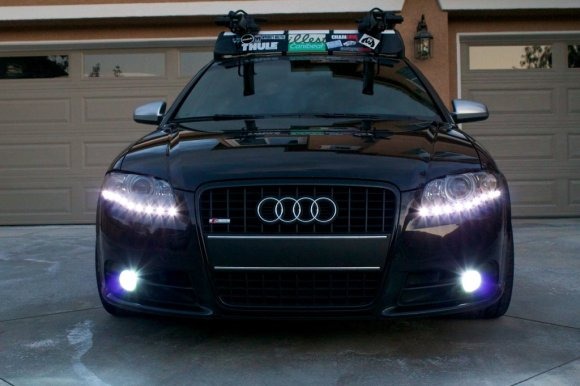 Ryans Audi A4 with Fly's LEDs