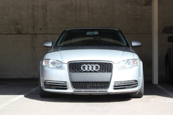 Plasti Dipped RS4 Grille