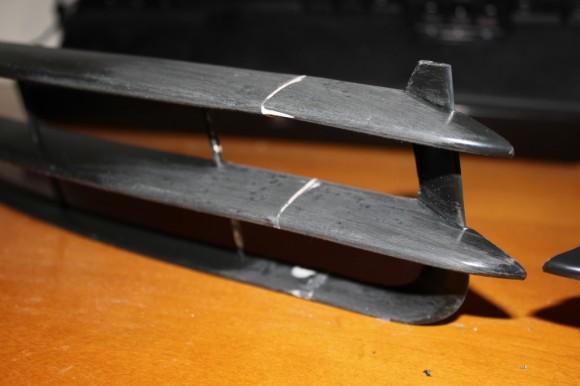 S6 Lower Grille - Bondo Sanding Complete