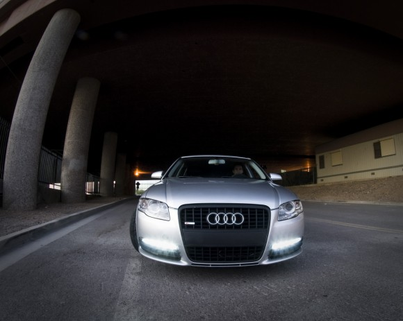 Audi A4 with S6 LEDs