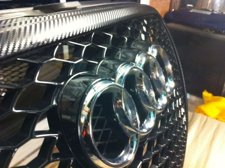 RS6 Grille on a B7