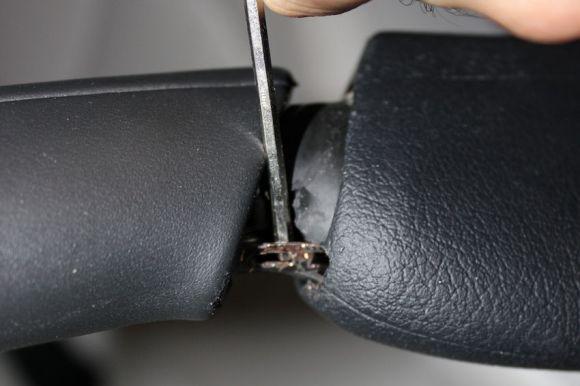 E-Brake Handle Install