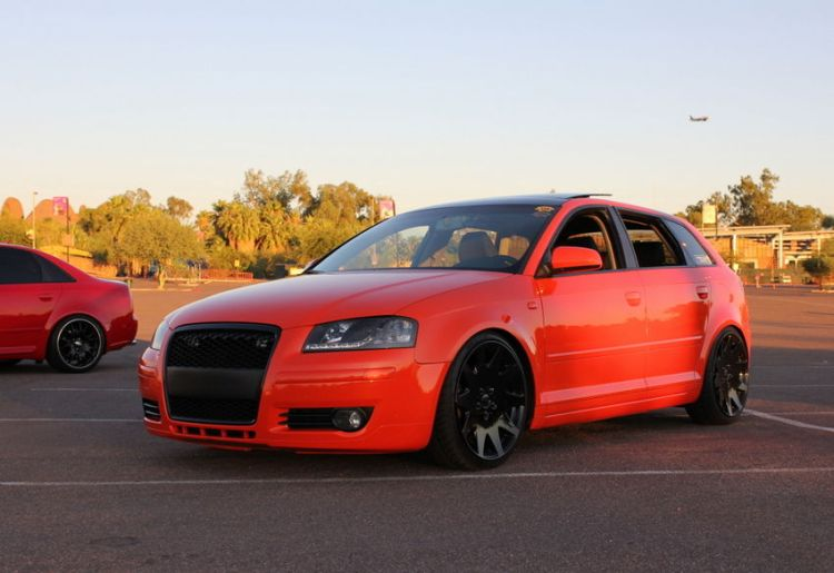 Candy Orange Audi A3