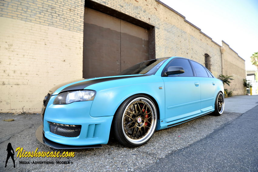 Featured Ride Randy S Matte Turquoise B7 Audi A4 On Hres