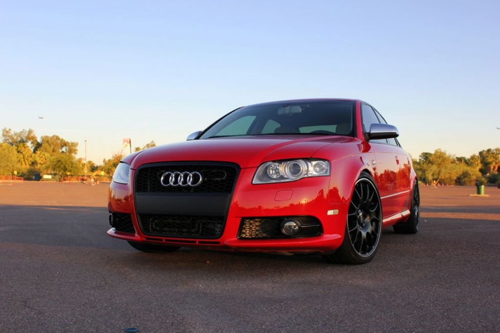 B7 S4 or S-line Bumper Conversion