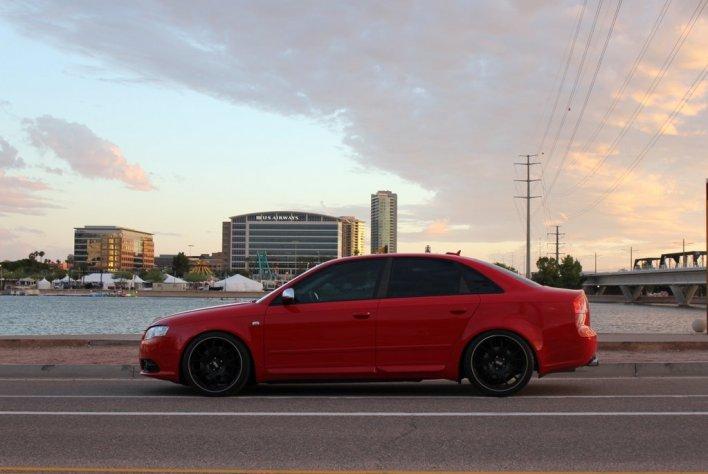 Audi S4 Black Window Trim