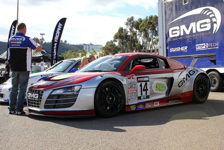 GMG Racing Audi R8 LMS