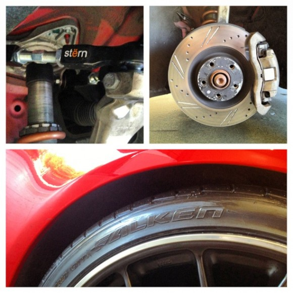 Stern Upper Control Arms Collage