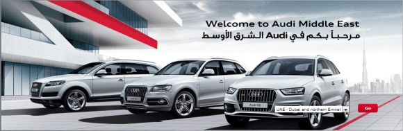 Audi in the Middle East