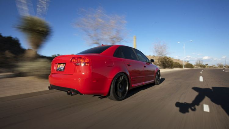 My B7 S4 Rolling