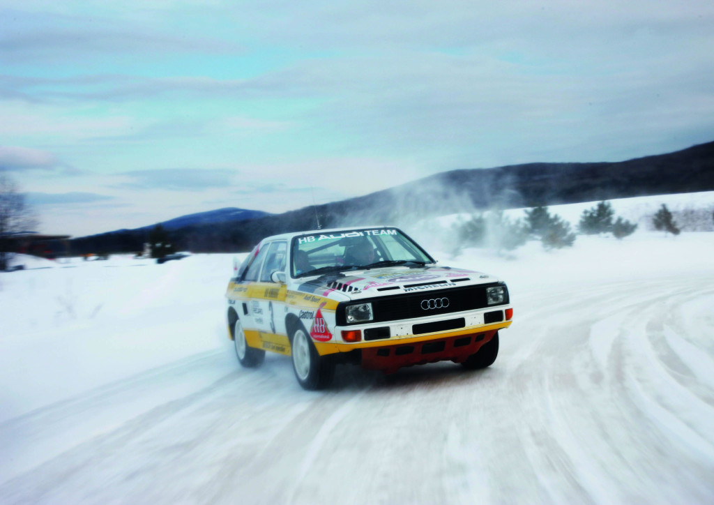 Audi Sport Quattro in the Snow