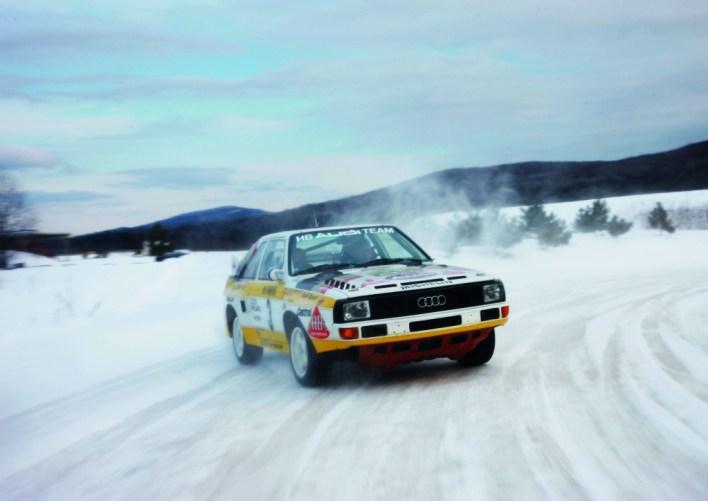 Audi Sport Quattro in the Snow
