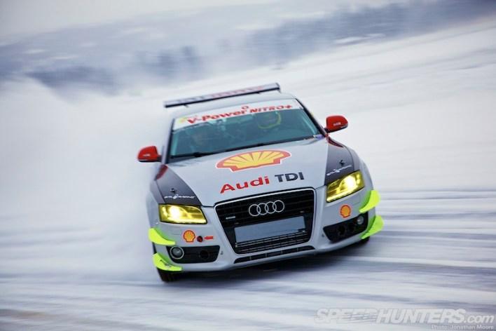 Audi A5 Snow Drift