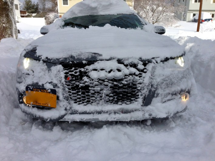 B8 S4 in the Snow